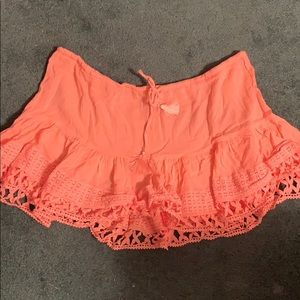Victoria secret swim suit cover up. Size XL